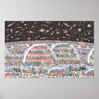 Là où est Waldo | à l'avenir Poster
