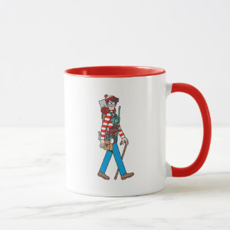 Là où est Waldo avec tout son équipement Mugs