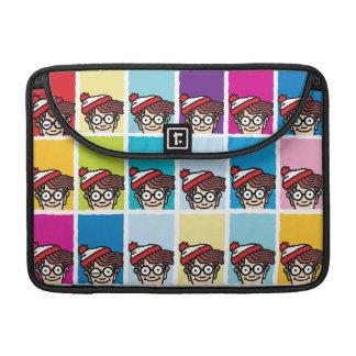 Là où est Waldo coloré modelez Housses MacBook Pro