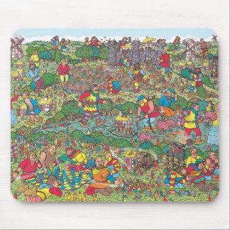Là où est Waldo | Giants peu amical Tapis De Souris