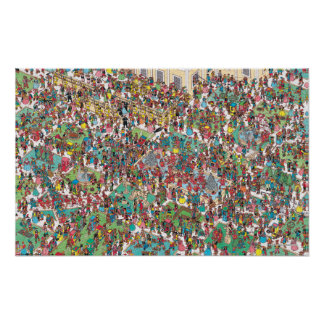 Là où est Waldo | Muskeeters fanfaron Poster