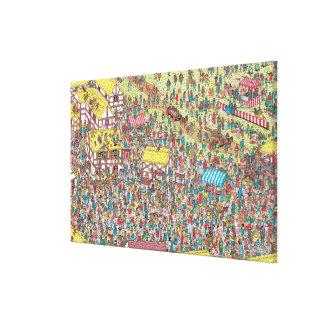 Là où est Waldo | une fois sur samedi matin Toile