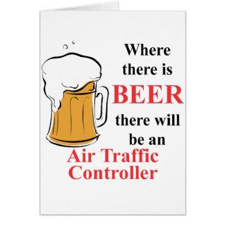 Là où il y a bière - contrôleur de la navigation cartes de vœux