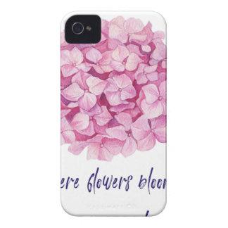 Là où les fleurs fleurissent coque Case-Mate iPhone 4