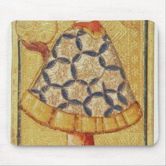La page des pièces de monnaie, d'un paquet de cart tapis de souris