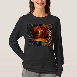 La paillette rêve le T-shirt avec Bouddha