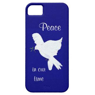 """La paix a plongé """"paix dans notre temps """" coque iPhone 5 Case-Mate"""