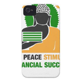 La paix intérieure stimule le succès financier coque iPhone 4