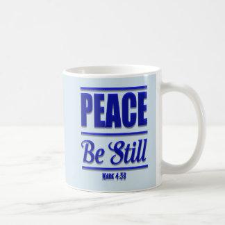 La paix soit tasse de café encore chrétienne