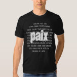 La Paix. T-shirts