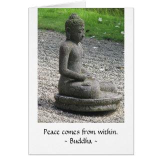 La paix vient de la carte