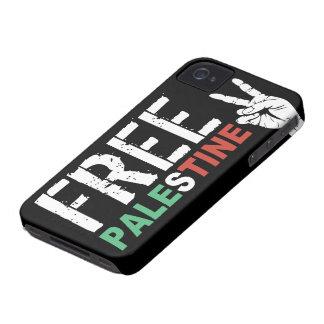 La Palestine libre avec le signe de paix Coque iPhone 4 Case-Mate