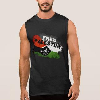 La Palestine libre T-shirt Sans Manches