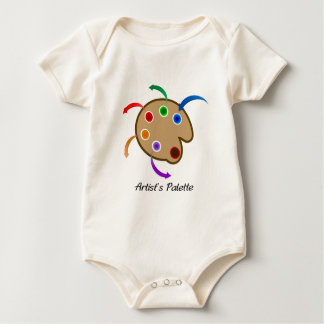 La palette d'artistes body pour bébé