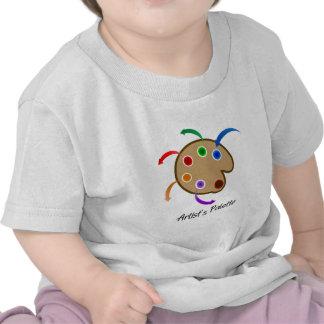 La palette d'artistes t-shirt