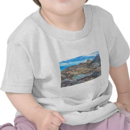 (la palette de l'artiste) parc national de Death V T-shirt