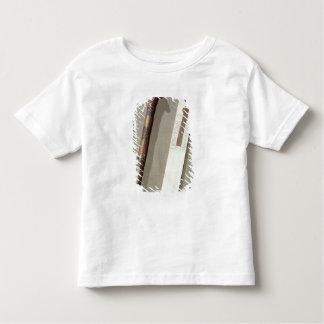 La palette et une caisse du scribe pour écrire des t-shirt