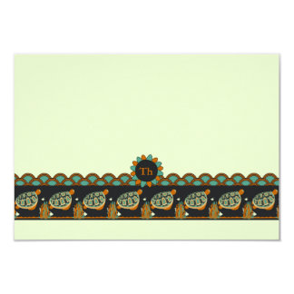 La papeterie personnalisée des enfants de carton d'invitation 8,89 cm x 12,70 cm