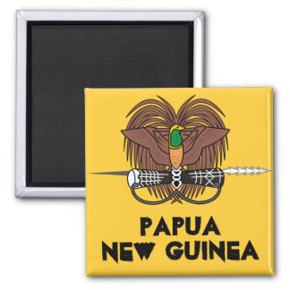 La Papouasie-Nouvelle-Guinée * aimant de
