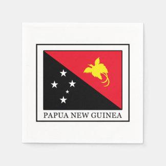 La Papouasie-Nouvelle-Guinée Serviettes En Papier