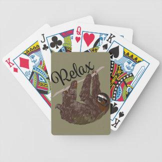 La paresse indique jeu de cartes
