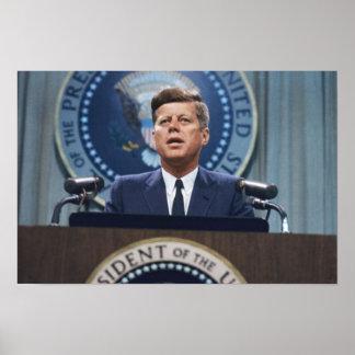 La parole de John F. Kennedy Poster