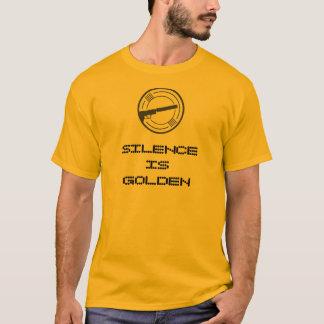 """""""La parole est d'argent le silence est d'or"""" pièce T-shirt"""