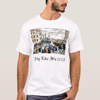 La partie comme elle est 1773 ! t-shirt