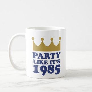 La partie comme elle est 1985 à Kansas City, Mug
