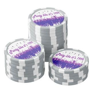 La partie comme elle est 1999® - jetons de poker -