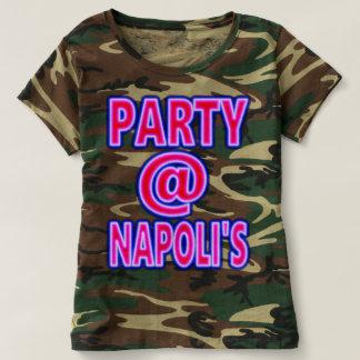 La partie des femmes à la chemise de Napoli T-shirt