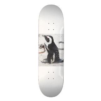 La Patineta du Pingouin Planches À Roulettes Customisées