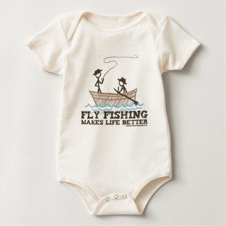La pêche de mouche rend la vie meilleure body
