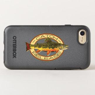La pêche de truite de ruisseau coque OtterBox symmetry iPhone 8/7