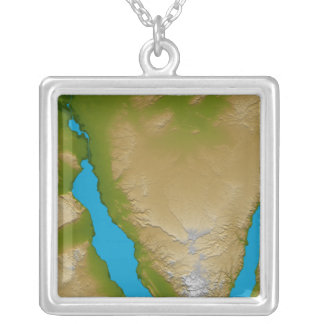 La péninsule du Sinaï Pendentif Carré