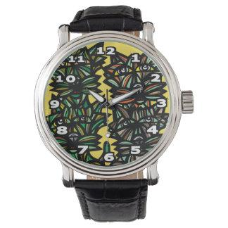 """La """"perfection construit"""" la montre en cuir montres cadran"""