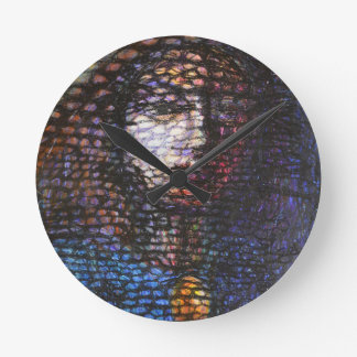 La perle horloge ronde