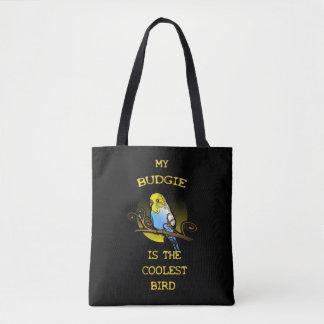 La perruche est l'oiseau le plus frais sac