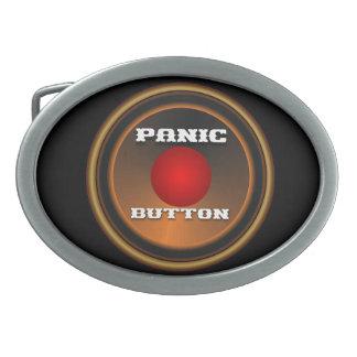La personnaliser de signal d'alarme éditent boucle de ceinture ovale