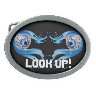 La personnaliser de yeux éditent la couleur boucles de ceinture ovales