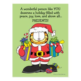 La personne merveilleuse vous aiment carte postale
