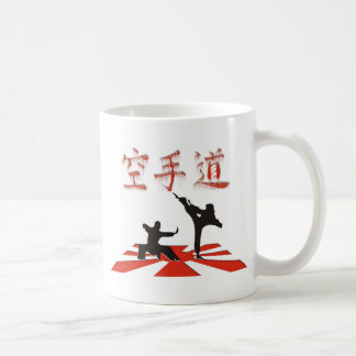 La perspective de karaté mug