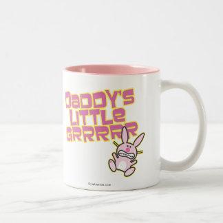 La petite fille du papa tasse 2 couleurs