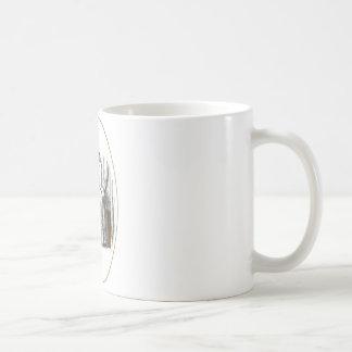 La petite porte mug blanc