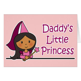 La petite princesse du papa cartes