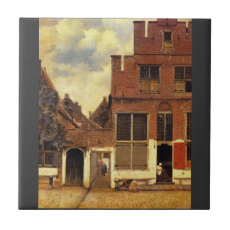 La petite rue par Johannes Vermeer Petit Carreau Carré