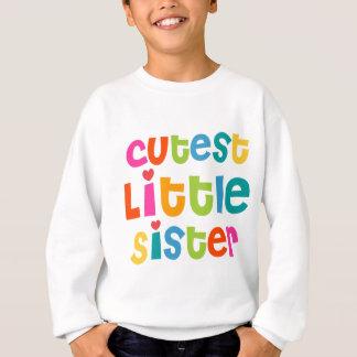 La petite soeur la plus mignonne sweatshirt