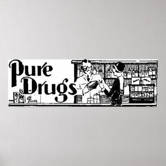 La pharmacie pure 1 de drogues affiche