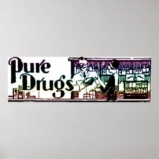 La pharmacie pure 2 de drogues affiches