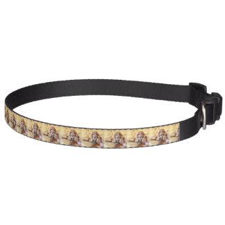 La photo commémorative d'animal familier collier de chien